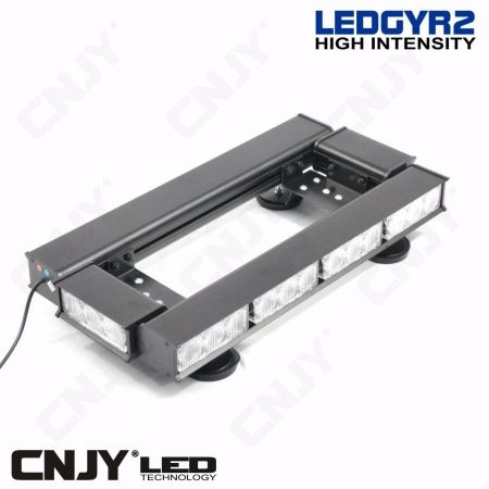 cnjy led technologie gyrophare rampe de toit ledgyr2 30w led pour vehicule de chantier. Black Bedroom Furniture Sets. Home Design Ideas