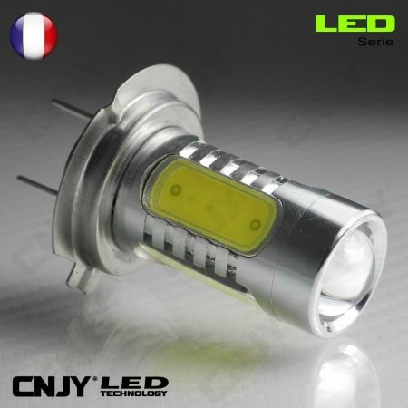 cnjy led technologie 1 ampoule led h7 px26d 11w hlu cree lenticulaire 12v pour feux de jour. Black Bedroom Furniture Sets. Home Design Ideas