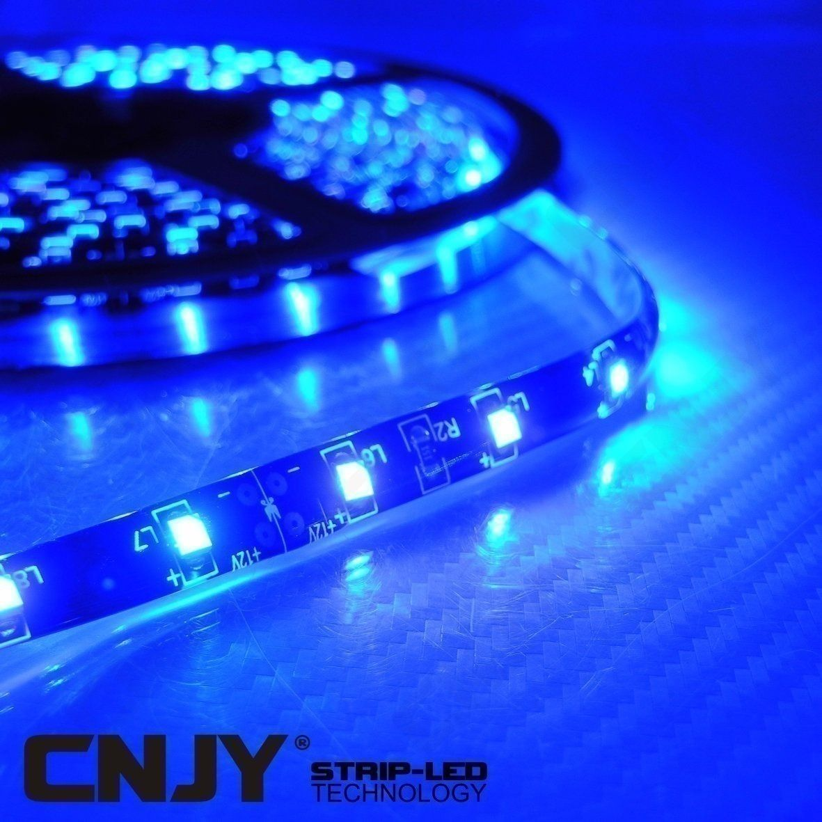 1 ruban de led smd 3528 bleu ip65 12v 60led m tre strip. Black Bedroom Furniture Sets. Home Design Ideas