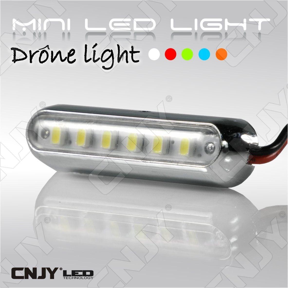 drone led light mini feux l ger pour clairage et signalisation led sur drone 12v dc blanc. Black Bedroom Furniture Sets. Home Design Ideas