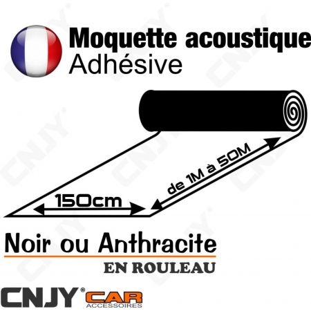 Cnjy led technologie moquette acoustique adhesive for Moquette acoustique adhesive