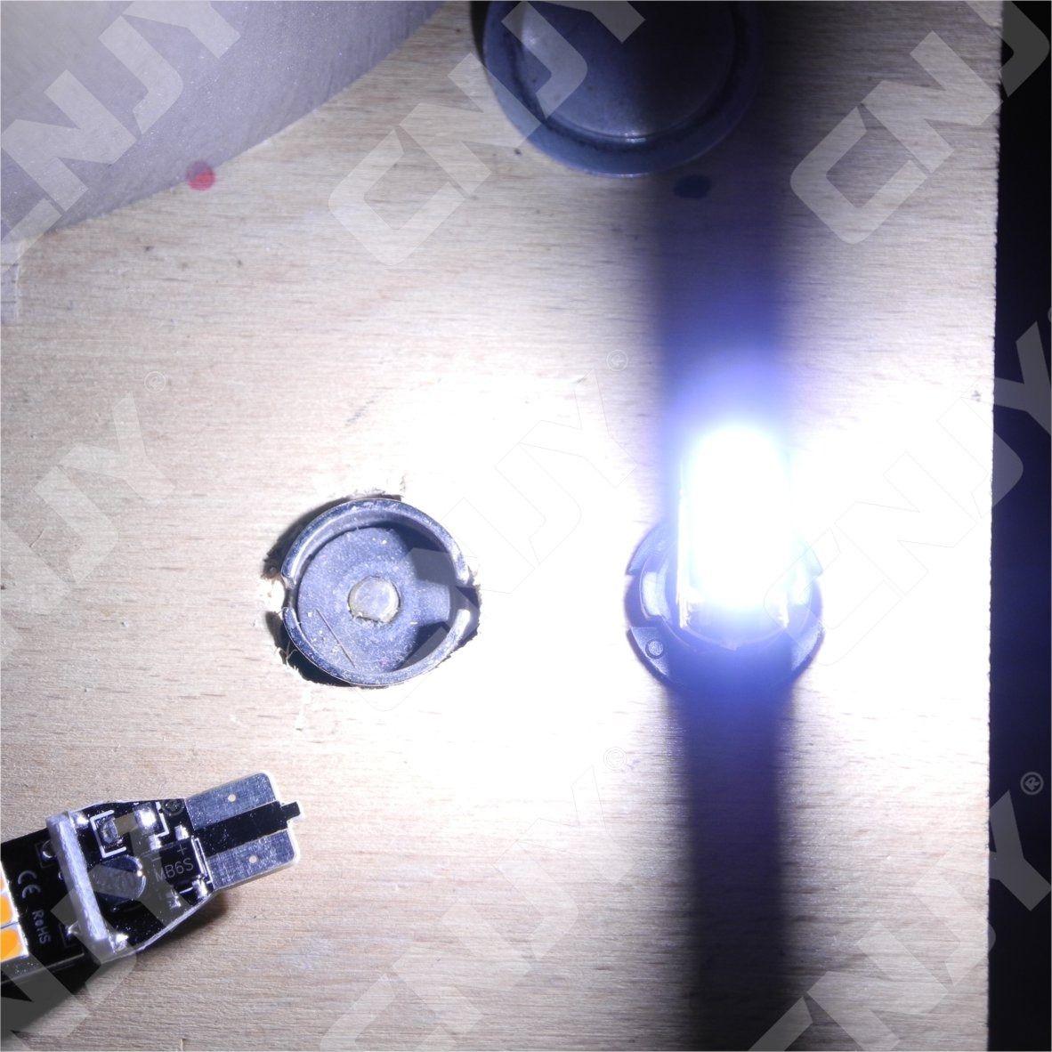 cnjy led technologie 2 ampoules pour feux de recul led t15 w16w vw golf 7 anti erreur odb blanc. Black Bedroom Furniture Sets. Home Design Ideas