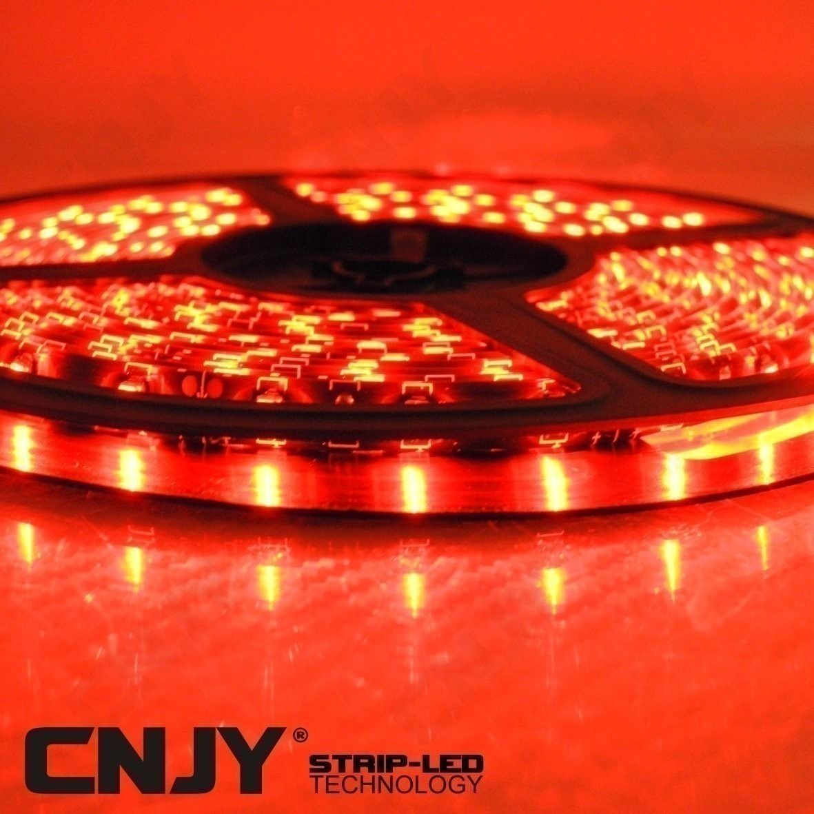 BANDE,LED,FLEXIBLE,STRIP,RUBAN,ROULEAU, DECORATION,12V,BAR,LED,DEL,SMD,ETANCHE,AQUARIUM,TUNING, ROUGE