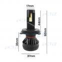 Kit de 2 ampoules led Elistar V12 H4