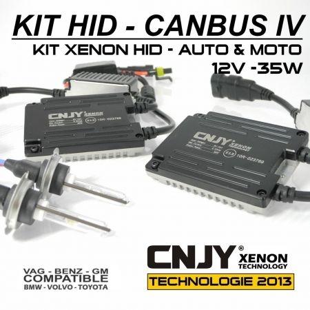 KIT XENON H7 HID BALLAST 35W SLIM CNJY CANBUS 4 TECHNOLOGIE ANTI ERREUR ODB 2013 !!