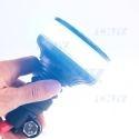 Gyrophare led 36W bleu sur hampe flexible