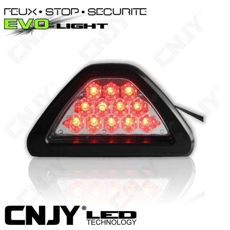 3E EME FEUX STOP FLASH ANTI BROUILLARD LED ROUGE SECURITE & VISIBILITE ARRIERE SUR AUTO MOTO 4X4 CAMPING CAR CARAVANE12V