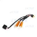 Câble anti erreur H4 plug and play avec résistance