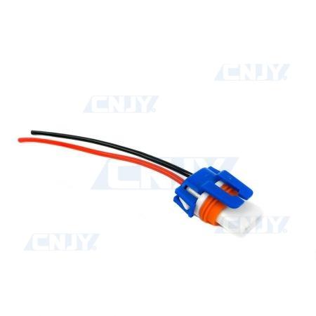 Connecteur câblé douille H10 mâle céramique