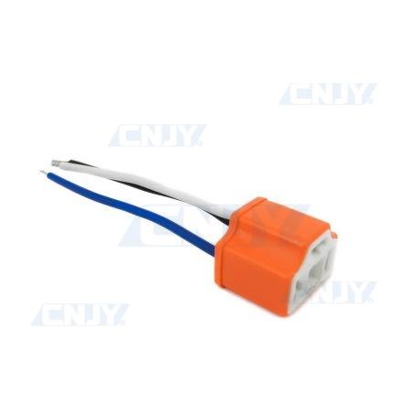 Connecteur câblé douille H4 P43T femelle céramique