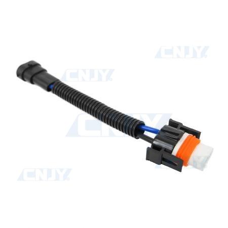 Connecteur câblé douille H11 mâle et femelle céramique
