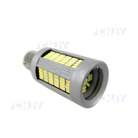 AMPOULE LED P21W BA15S 135 LED SONAR® FEUX DE JOUR BLANC 12V