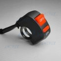 INTERRUPTEUR GUIDON POUR MOTO SWITCH ON/OFF MOTORCYCLE LED COUPE CIRCUIT