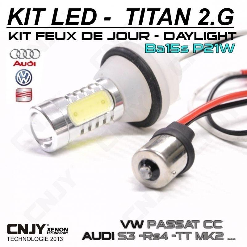 Passat And Play Ba15s Sans g Cc Pour Feux Plug Jour Kit Titan2 P21w Ampoule 2 Led Vw Cnjy Erreur Diurne Anti Odb mNvO8nw0
