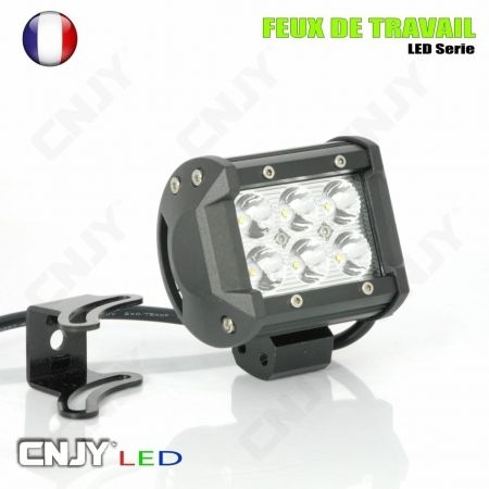 FEUX DE TRAVAIL XP-PRO CNJY LED 18W CREE WORKING LIGHT IP67 CAMION BATEAU 4x4 12 24V