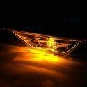 Ampoule led T10 WY5W orange répétiteur latéraux