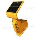 Balise solaire à led pour rail et glissière de sécurité