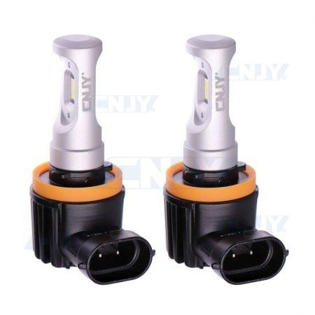 Kit de 2 ampoules led Elistar V10 H9B PGJY19-5
