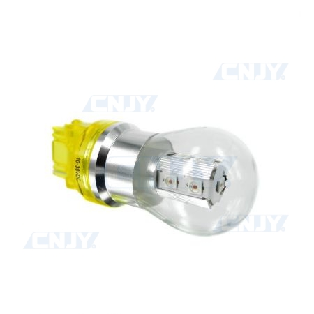 AMPOULE 9 LED PY27W 3156 CREE® XTE ORANGE 12V 24V