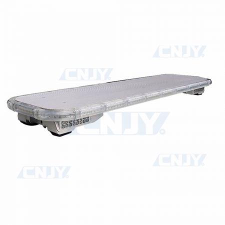 Gyrophare rampe de toit à led avec sirène intégrée CNJY® POLICE VRX2 116cm
