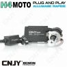 KIT XENON HID H4-MOTO HI/LOW 35W AVEC PRISE PLUG AND PLAY & BALLAST QUICK START