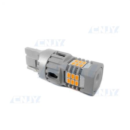AMPOULE LED WY21W 7440 T20 SONAR8.2® POUR CLIGNOTANT ORANGE 12V