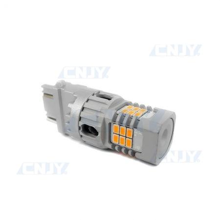AMPOULE LED PY27W 3156 T25 SONAR8.2® POUR CLIGNOTANT ORANGE 12V