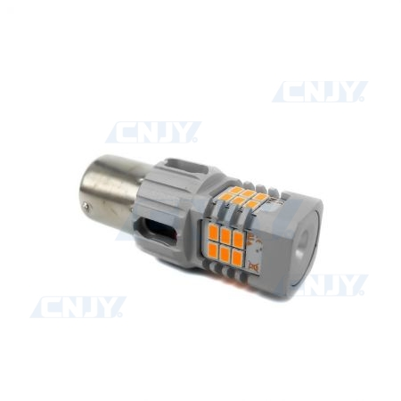 AMPOULE LED P21W BA15S SONAR8.2® POUR CLIGNOTANT ORANGE 12V