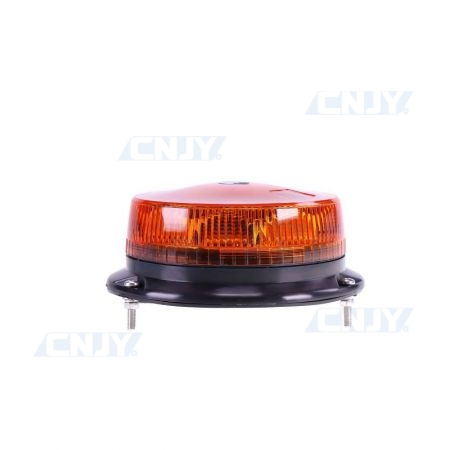 Gyrophare led orange 27W ISO 3 points GYROCODE3® E9-Classe1 12V/24V