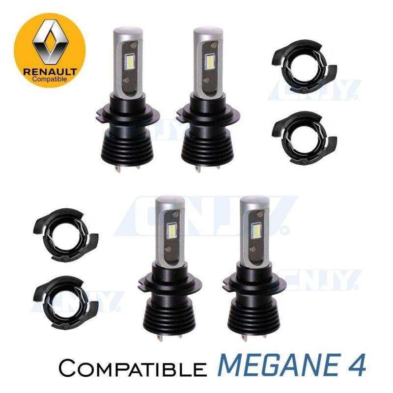 Kit de 4 ampoules led H7 Renault Megane 4
