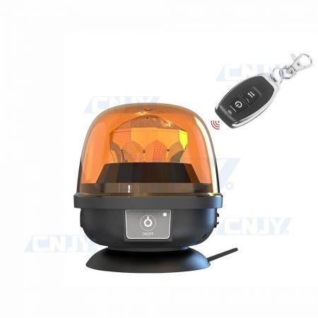 Gyrophare led télécommandé GYROLITE OMEGA® autonome et magnétique