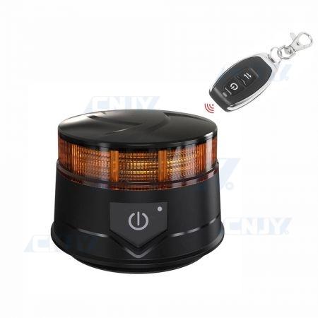 Gyrophare led télécommandé GYROLITE ALPHA® autonome et magnétique