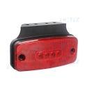 Feu de gabarit à led rouge pour camion remorque 12V 24V