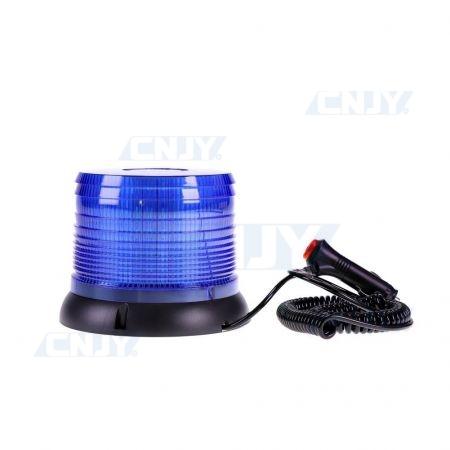 Gyrophare led CRONOS® BLEU 8W magnétique ECE R65 10R