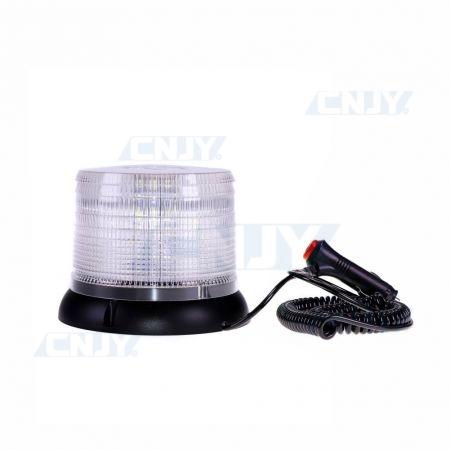 Gyrophare led CRONOS® BLANC 8W magnétique ECE R65 10R