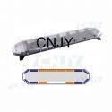 Gyrophare rampe de toit led bleu et orange pour ambulance 120cm
