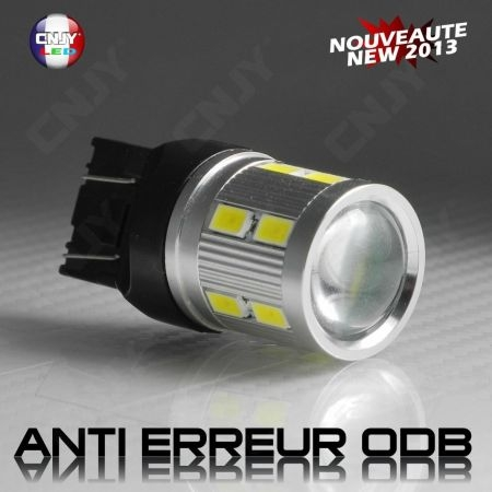 1 AMPOULE LED 12V T20 7443 TYPE W21/5W CREE TITAN SPECIAL CNJY