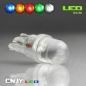 1 AMPOULE T10 W5W 1 LED RONDE CONCAVE BIG-LED TIGER