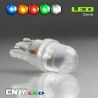 AMPOULE LED T10 W5W A LENTILLE TIGER 12v
