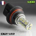 1 AMPOULE LED HB5 9007 P29T 18SMD 12V POUR FEUX DE JOUR & PHARE ANTI BROUILLARD