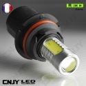 1 AMPOULE LED HB5 9007 P29T 8W HLU 8000K 12V POUR FEUX DE JOUR & PHARE ANTI BROUILLARD