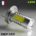 1 AMPOULE LED H7 PX26D 11W HLU+CREE LENTICULAIRE 12V POUR FEUX DE JOUR & PHARE ANTI BROUILLARD