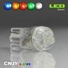AMPOULE T10 W5W 4 LED VEILLEUSE AUTO MOTO