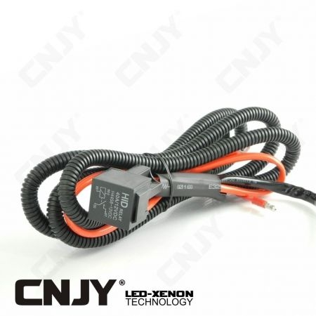 Relais 12V ou 24V cablé pour montage feux et équipement led
