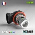 1 AMPOULE LED H9 PGJ19-5 25W CREE LENTICULAIRE 12V POUR FEUX DE JOUR & PHARE ANTI BROUILLARD
