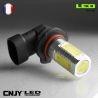 1 AMPOULE LED H12 PZ20D 8W HLU 8000K 12V POUR FEUX DE JOUR & PHARE ANTI BROUILLARD