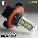 1 AMPOULE LED H13 9008 18LED SMD 12V POUR FEUX DE JOUR & PHARE ANTI BROUILLARD