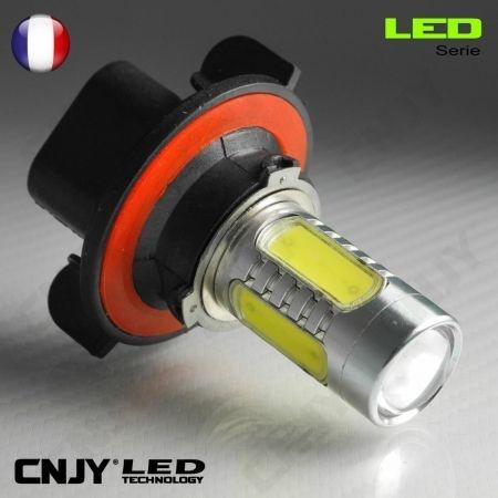 1 AMPOULE LED H13 9008 11W HLU+CREE LENTICULAIRE 12V POUR FEUX DE JOUR & PHARE ANTI BROUILLARD