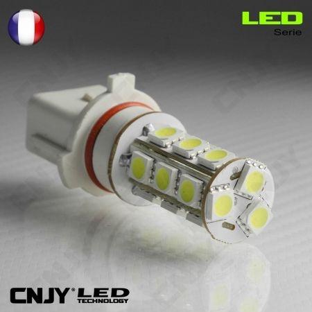 1 AMPOULE LED P13W 18LED SMD 9009 5502 P13 PSX26W 12V POUR FEUX DE JOUR & PHARE ANTI BROUILLARD