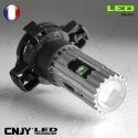 1 AMPOULE LED PY24W 25W CREE LENTICULAIRE PGU20-4 5200 12190 12V POUR FEUX DE JOUR & PHARE ANTI BROUILLARD